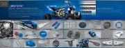 2010 Yamaha ATV YFZ 450R YFZ 450X RAPTOR 90 250 350 700R SE WOLVERINE 450 Brochure, 2010 page 8
