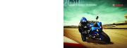 2011 Yamaha Sportbike Scooter YZF R1 R6 FZ FJR Tmax Vino Classic C3 Zuma Brochure Catalog page 1