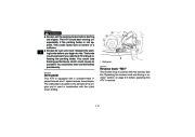 2010 Yamaha Raptor 700R SE YFM7RZ YFM7RSEXZ ATV Owners Manual, 2010 page 28