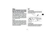 2010 Yamaha Raptor 700R SE YFM7RZ YFM7RSEXZ ATV Owners Manual, 2010 page 31