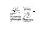 2010 Yamaha Raptor 700R SE YFM7RZ YFM7RSEXZ ATV Owners Manual, 2010 page 33