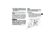 2010 Yamaha Raptor 700R SE YFM7RZ YFM7RSEXZ ATV Owners Manual, 2010 page 37