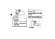 2010 Yamaha Raptor 700R SE YFM7RZ YFM7RSEXZ ATV Owners Manual, 2010 page 40