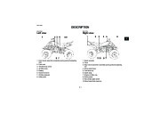 2009 Yamaha Raptor 350 YFM35RY ATV Owners Manual, 2009 page 17