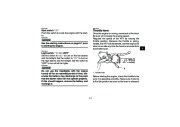 2009 Yamaha Raptor 350 YFM35RY ATV Owners Manual, 2009 page 21