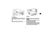 2009 Yamaha Raptor 350 YFM35RY ATV Owners Manual, 2009 page 31