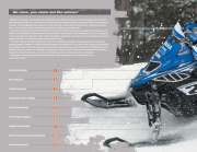 2010 Yamaha Snowmobile FX Nytro RTX XTX Phazer RTX GT Apex GT LTX RS Vector Venture Viking Catalog, 2010 page 8