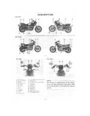 1978-1981 Yamaha XS1100H XS1100SH Owners Manual, 1978,1979,1980 page 4