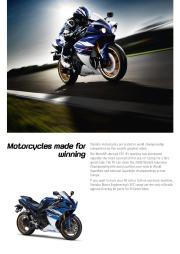 2010 Yamaha YZF1000R1 Factsheet Catalog, 2010 page 2