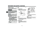 2004 Yamaha FZ6 SS SSC Owners Manual, 2004 page 28